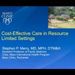 Webinar: Cost-Effective Care in Resource-Limited Settings