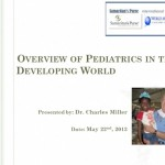 Webinar: Overview of Pediatrics in the Developing World