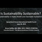 Webinar: Sustainability in Public Health and Charitable Organizations